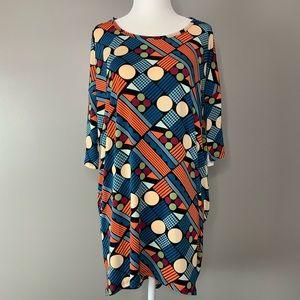 NWT Lularoe Irma geometric print tunic
